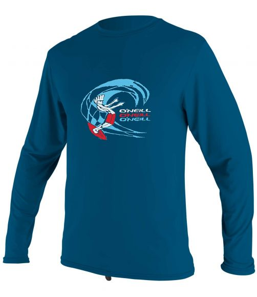 O'Neill---UV-shirt-for-boys---Longsleeve---O'Zone-Sun---Ultra-Blue
