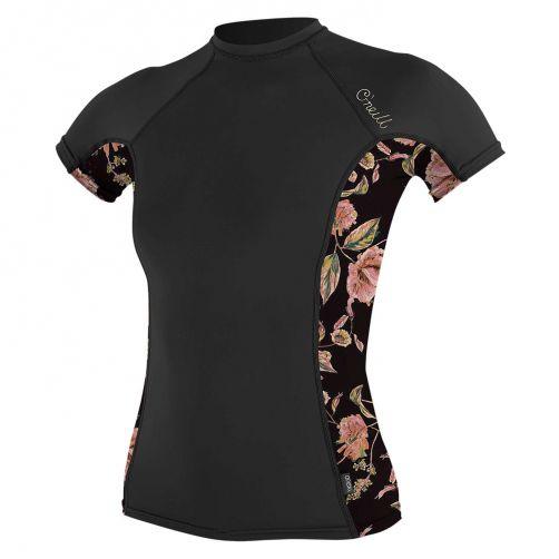 O'Neill---Women's-UV-shirt---Short-Sleeves---Rash-Guard---Black
