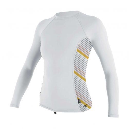 O'Neill---Women's-UV-shirt---Longsleeve---Rash-Guard---White