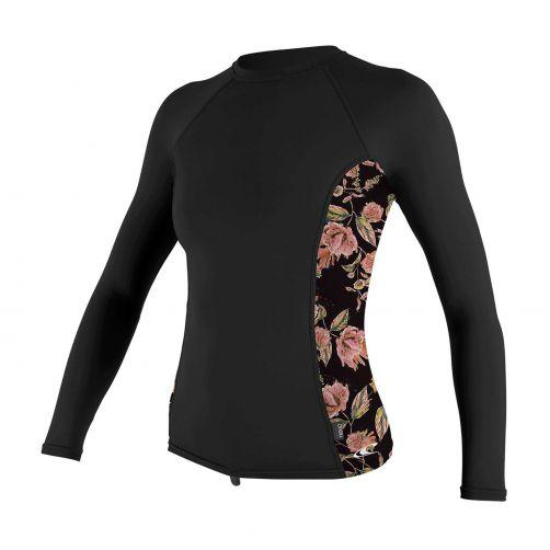 O'Neill---Women's-UV-shirt---Longsleeve---Rash-Guard---Black