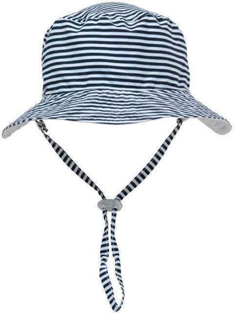 Snapper-Rock---UV-Bucket-Hat-for-kids---Reversible---White/Navy