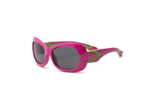 Real-Kids-Shades---UV-sunglasses-for-kids---Breeze---Cherry-pink/lime