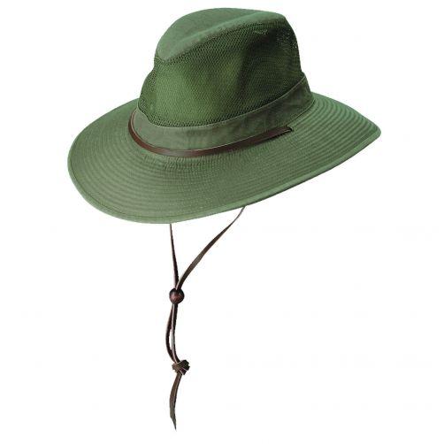 Dorfman-Pacific---UPF-50+-Men's-UV-Hat-Olive