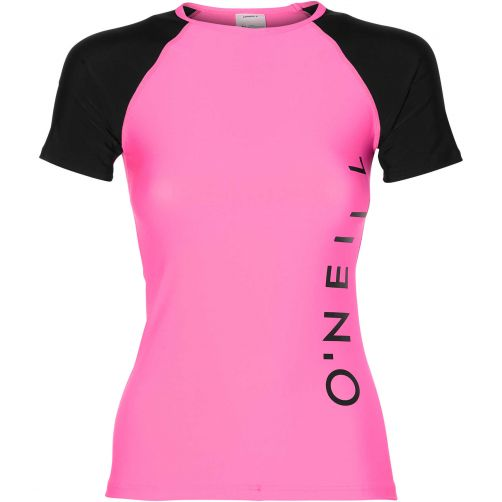 O'Neill---UV-swim-shirt-for-women---Shocking-pink