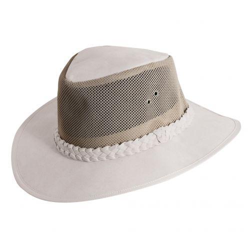 Dorfman-Pacific---UV-hat-for-men---White