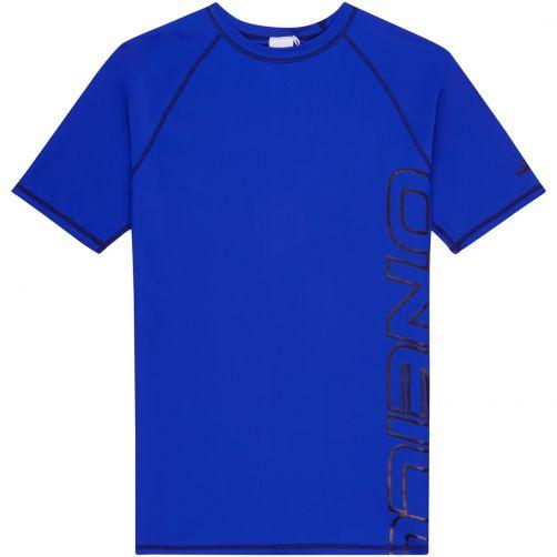 O'Neill---Men's-UV-Shirt---Short-Sleeve---Blue