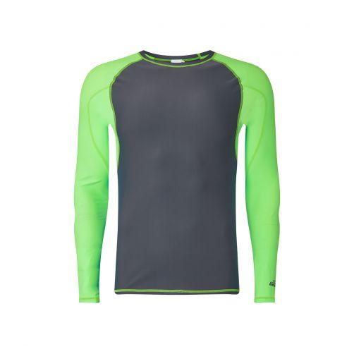O'Neill---Men's-long-sleeve-UV-Shirt---Grey-/-Light-Green