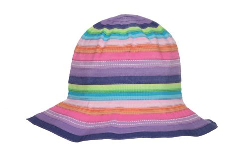 Rigon---UV-bucket-hat-voor-kinderen---Chloe---Rainbow