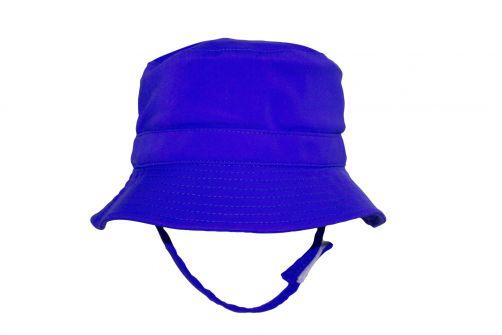 Rigon---UV-bucket-hat-for-babies---Royal-blue