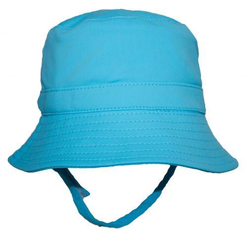 Rigon---UV-bucket-hat-for-babies---Turquoise