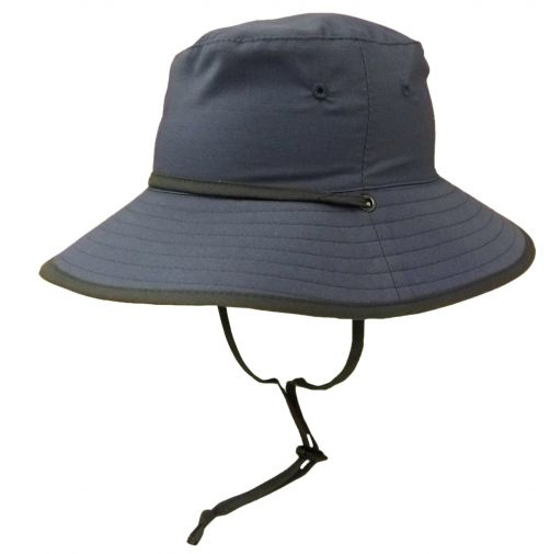 Rigon---UV-sun-hat-for-boys---Petrol-blue-/-grey