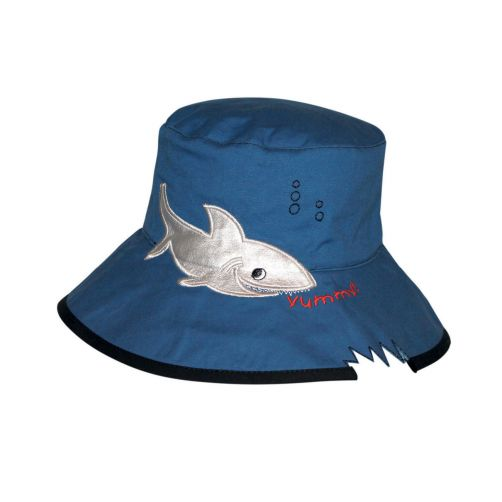 Rigon---UV-bucket-hat-for-children---Blue-shark