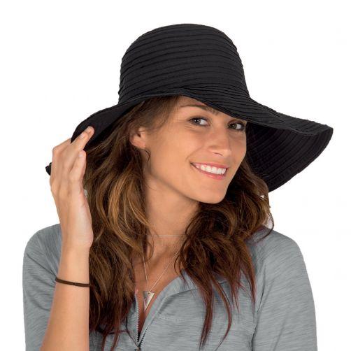 Rigon---UV-floppy-hat-for-women---Solid-black