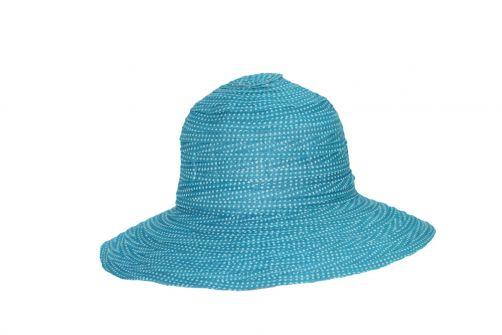 Rigon---UV-floppy-hat-for-petite-women---Turquoise