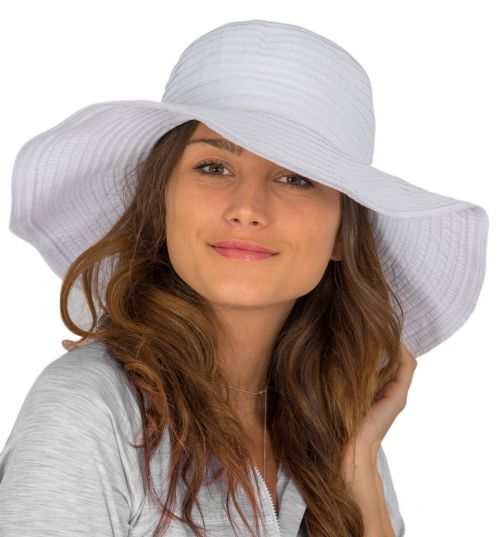 Rigon---UV-floppy-hat-for-women---Solid-white