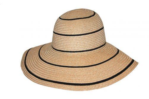 Rigon---Floppy-hat-for-women---Lindeman---Camel-with-black-stripes