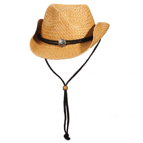 Scala---UV-cowgirl-hat-for-Kids---Tea