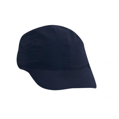 Scala---UV-flap-cap-for-Kids---Navy