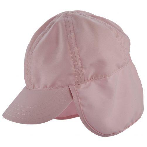 Scala---UV-flap-cap-for-Kids---Pink
