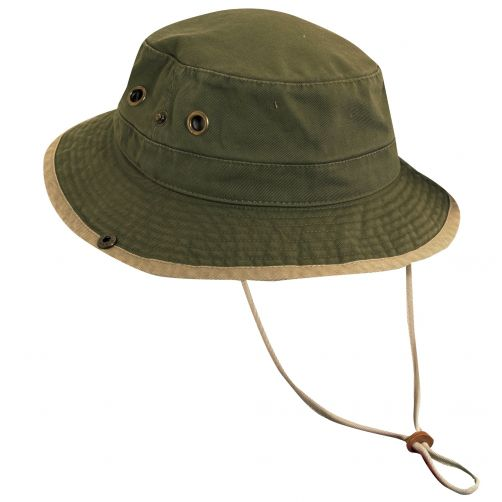 Scala---UV-boonie-hat-for-Kids---Olive-Kaki