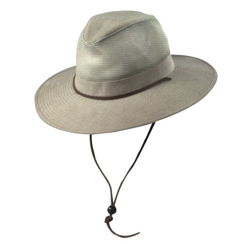 Scala---UV-safari-hat-for-Kids---Kaki