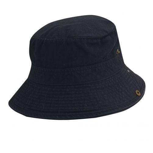 Scala---UV-boonie-hat-for-Kids---Navy-Orange