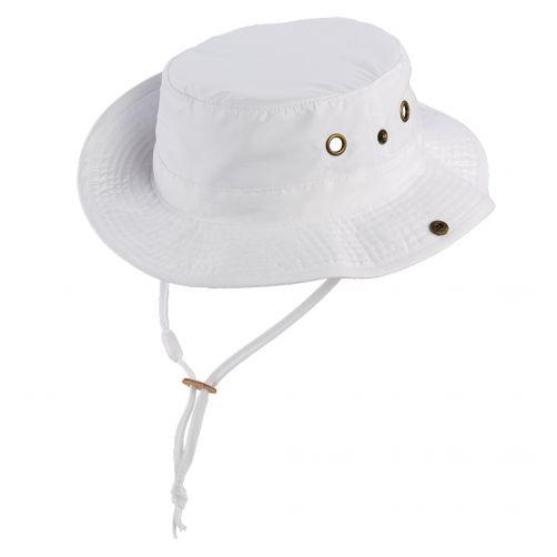 Scala---UV-boonie-hat-for-Kids---White
