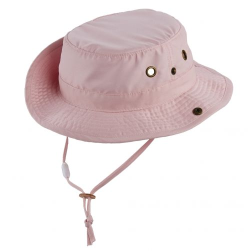 Scala---UV-boonie-hat-for-Kids---Pink