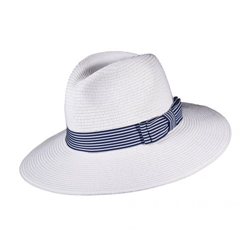 Callanan---UV-fedora-hat-for-women---White