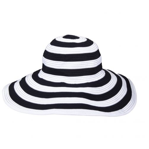 Scala---UV-hat-for-women---Black-White