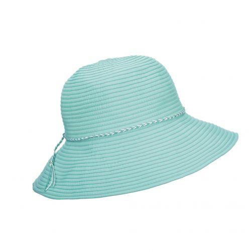 Scala---UV-bucket-hat-for-women---Aqua