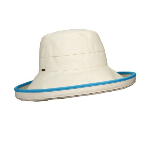 Scala---UV-hat-for-women---Turquoise