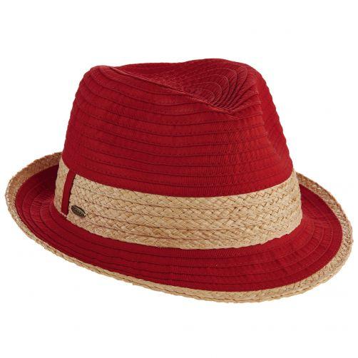 Scala---UV-fedora-for-women---Red