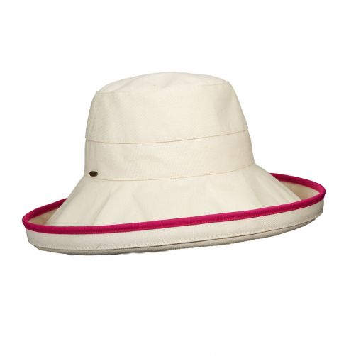 Scala---UV-hat-for-women---Fuchsia