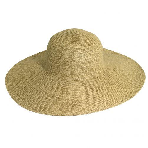 Scala---UV-hat-big-brim-for-women---Natural-Brown