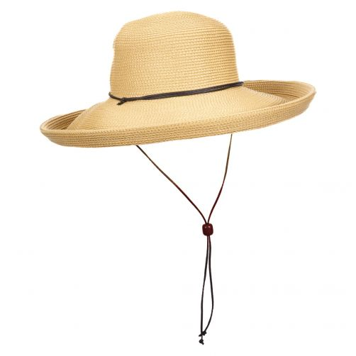 Scala---UV-hat-Whiteh-cord-for-women---Natural