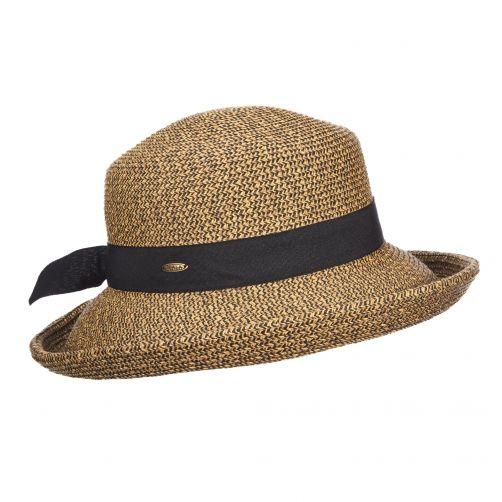 Scala---UV-braided-hat-for-women---Coffee