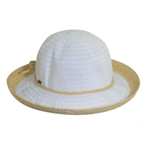 Scala---UV-hat-lint-for-women---White