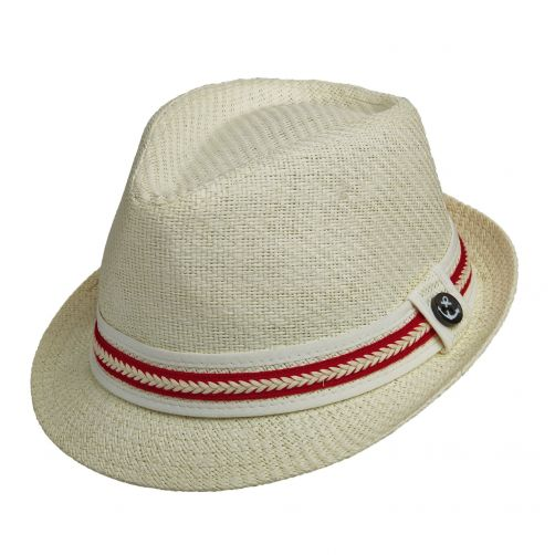 Tropical-Trends---UV-hat-for-women---Red