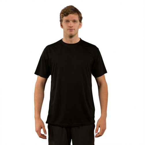 Vapor-Apparel---Men's-UV-shirt-with-short-sleeves---black