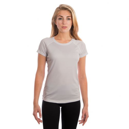 Vapor-Apparel---Women's-UV-shirt-with-short-sleeves---grey