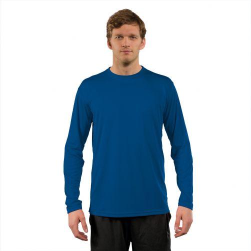 Vapor-Apparel---Men's-UV-shirt-with-long-sleeves---blue
