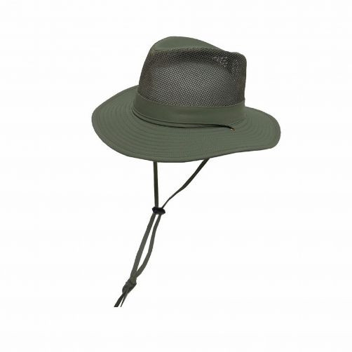Dorfman-Pacific---Safari-hat-for-Men---Olive