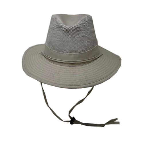 Dorfman-Pacific---UV-Safari-hat-for-men---Kaki