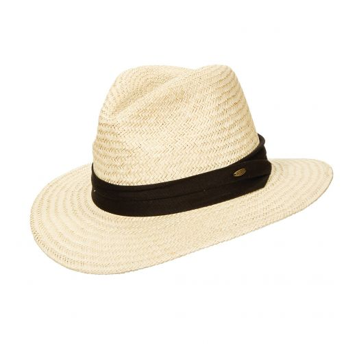 Scala---UV-Safari-palm-hat-for-men---Natural