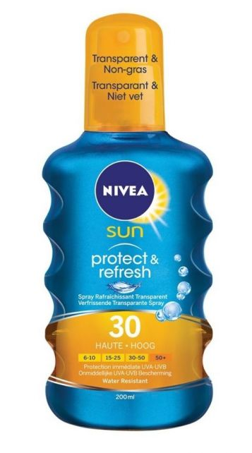 Nivea---UV-sun-spray---Sun-Protect-&-refresh-SPF30