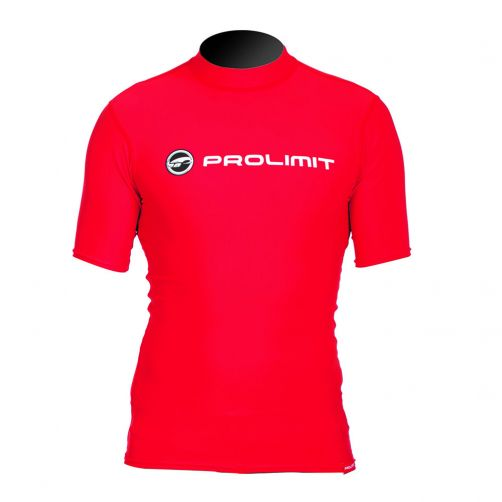 Prolimit---Swim-shirt-for-men-with-short-sleeves---Red