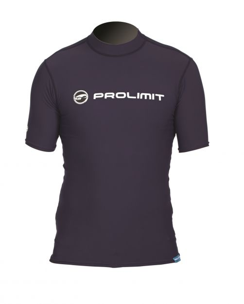Prolimit---Swim-shirt-for-men-with-short-sleeves---Slate-Black