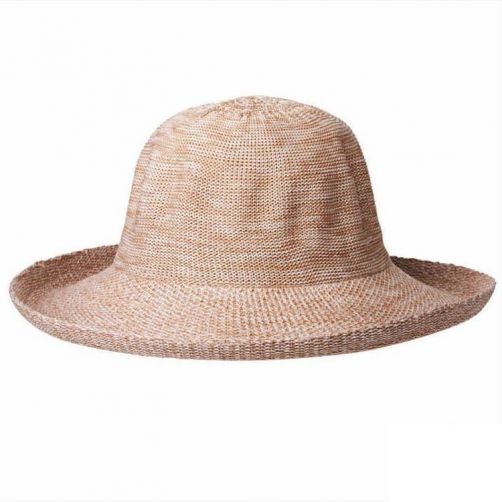 Rigon---UV-sun-hat-for-women---Mixed-camel