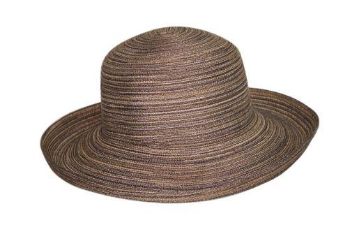 Rigon---Sun-hat-for-women---Helena---Brown